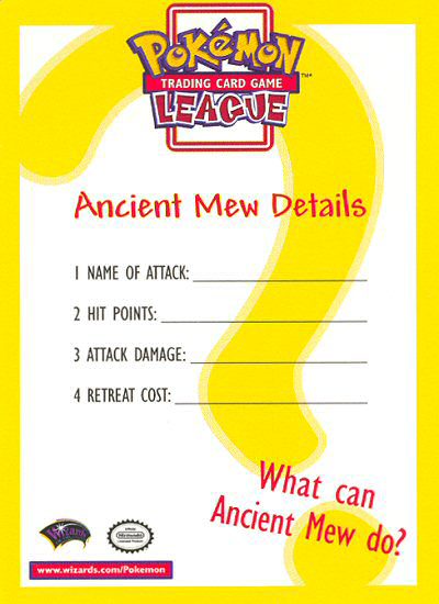 What can Ancient Mew do?