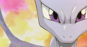 Mewtwo's eyes from the movie