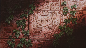 Amazonian carving of Mew
