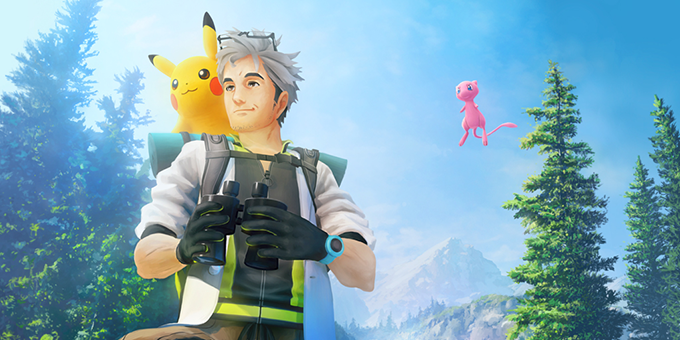 Professor Willow and Mew