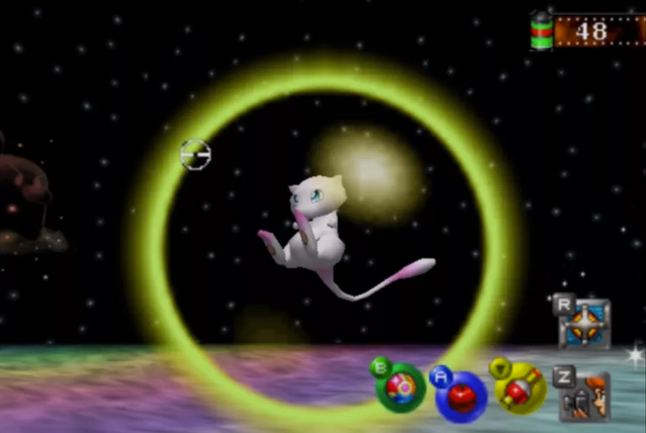 Mew from Pokemon Snap