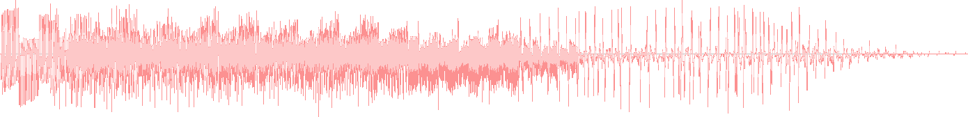 Waveform representing Mew's cry