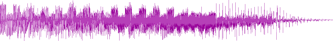 Waveform representing Mewtwo's cry