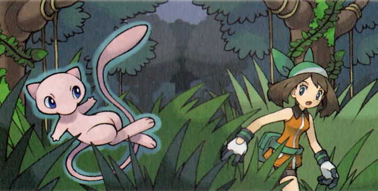 May chasing Mew on Faraway Island