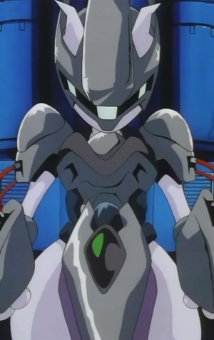 Mewtwo in armor