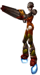 ROLLER QUEEN ☢ slash (quake III arena)