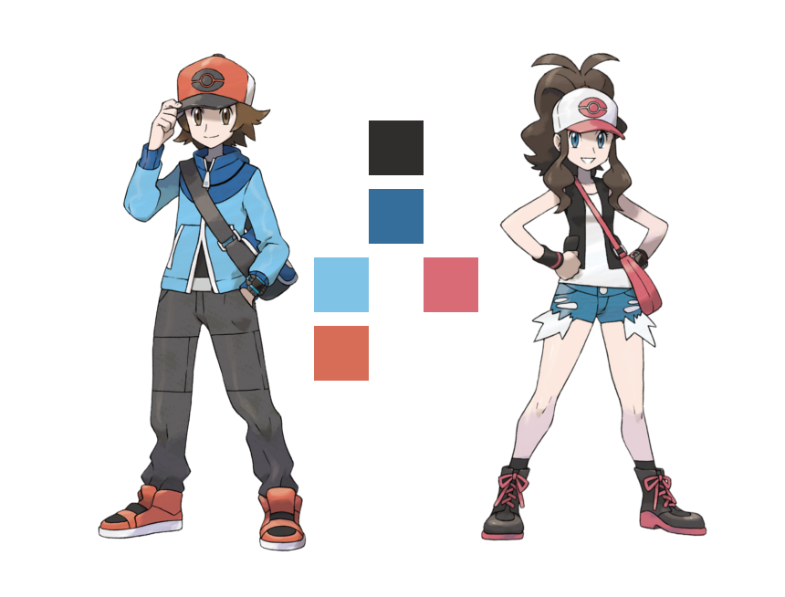 787352ff147 The Female Playable Characters of Pokémon - Staircase Spirit