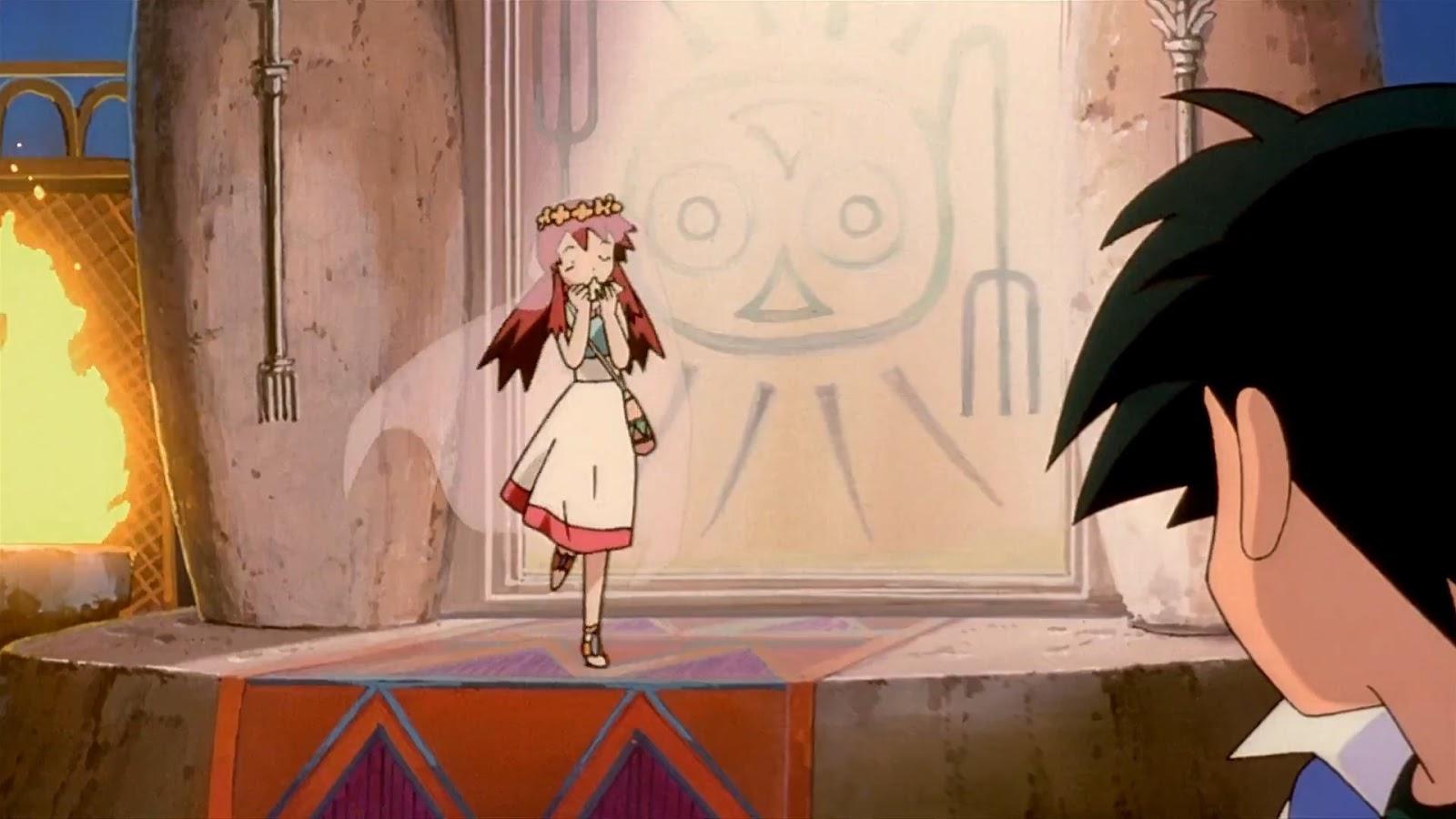 Pokemon Movie Review The Lugia Movie Staircase Spirit
